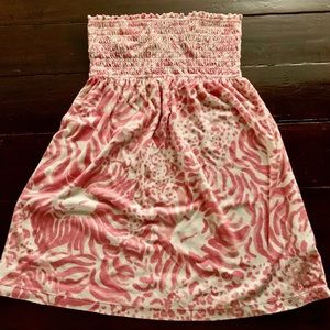 Lily Pulitzer dress cover up size L
